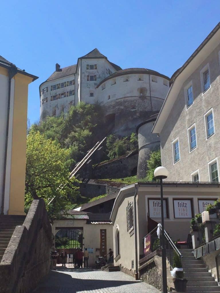 Eingang Festung Kufstein