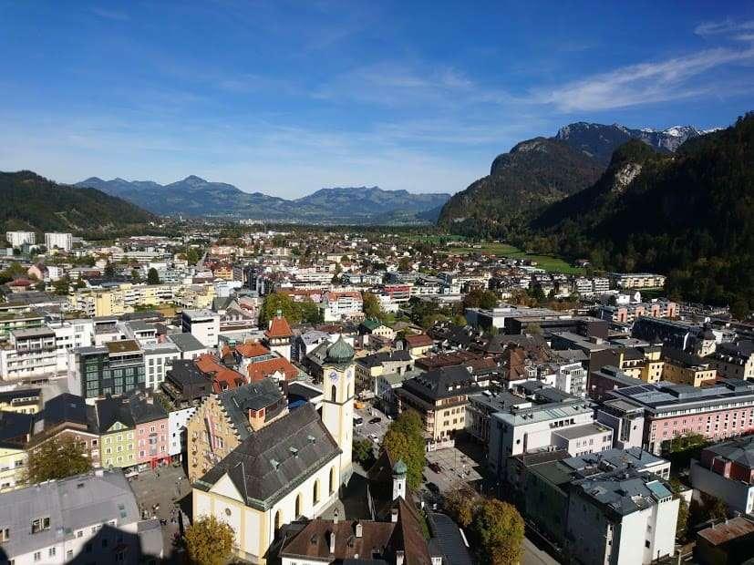Festung Kufstein Ausblick Kirche