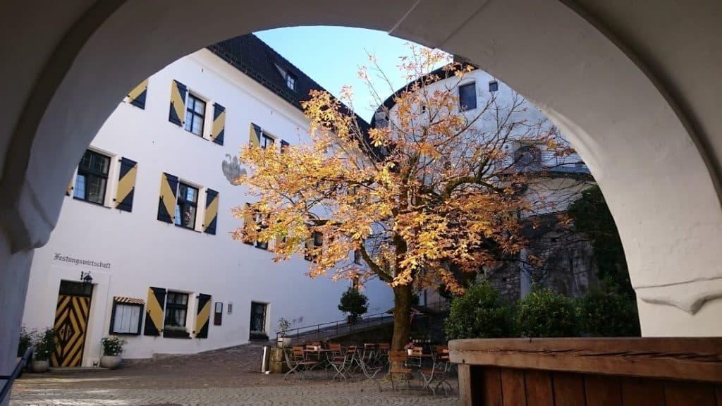 Festung Kufstein Innenhof