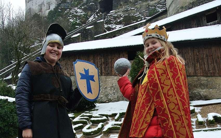 Festung Kufstein Kinder Kostüm