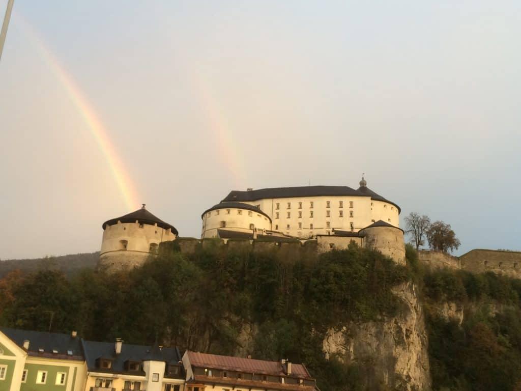 Festung Kufstein Regenbogen
