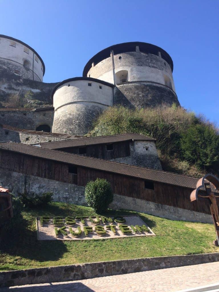 Festungsaufgang
