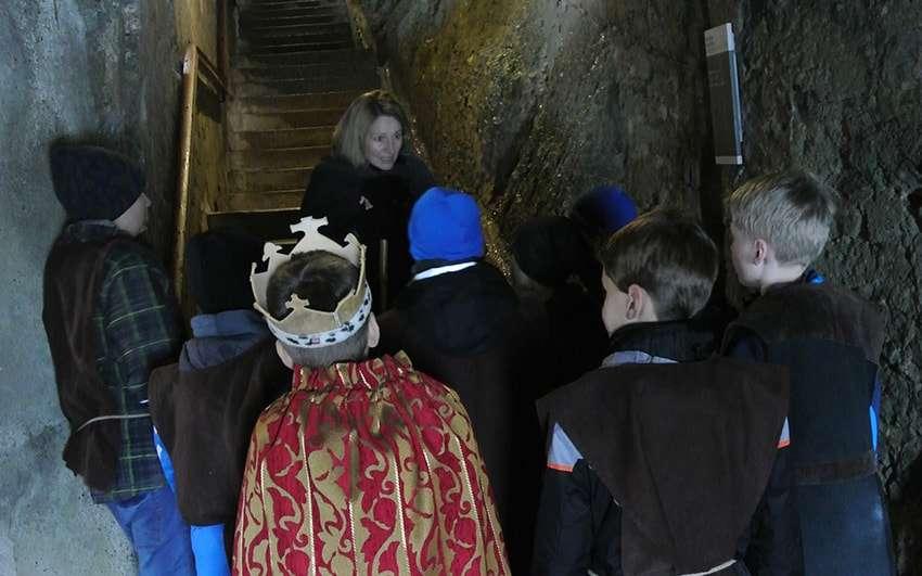 Kinder Führungen Festung Kufstein