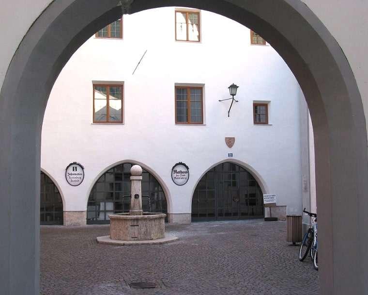 Stille Innenhöfe Rattenberg